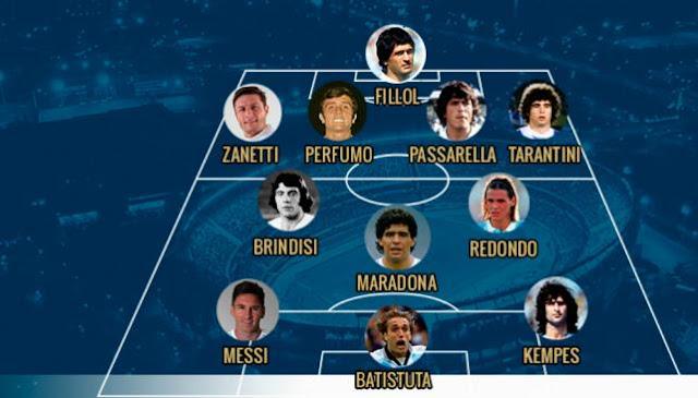 la mejor seleccion argentina de futbol de todos los tiempos