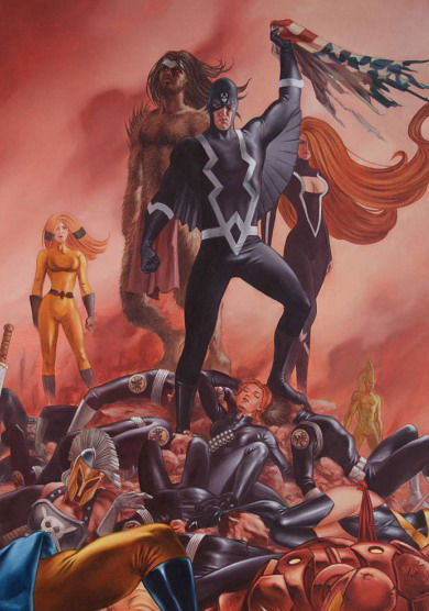 Black Bolt (Marvel Comics) Character Review - 2