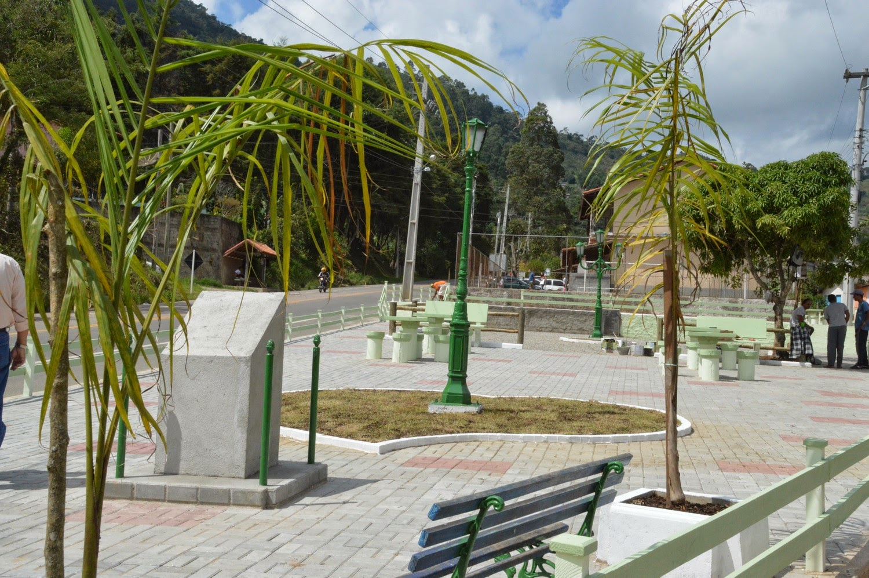 Mudas de árvores nativas foram plantadas ao redor da praça, tornando o lugar, além de seguro, mais agradável à população