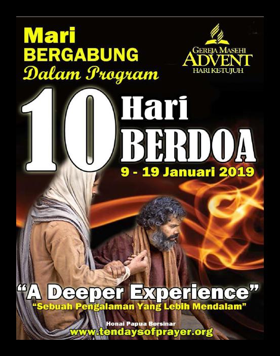 Materi 10 Hari Berdoa Awal Tahun 2019