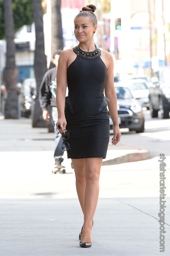 Carmen Electra In La Shortly After Filming A New Episode Of E's