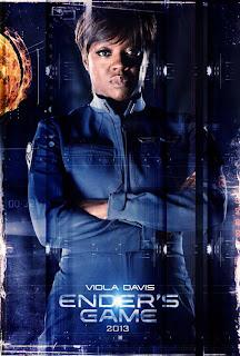 Ender's Game character poster - Viola Davis