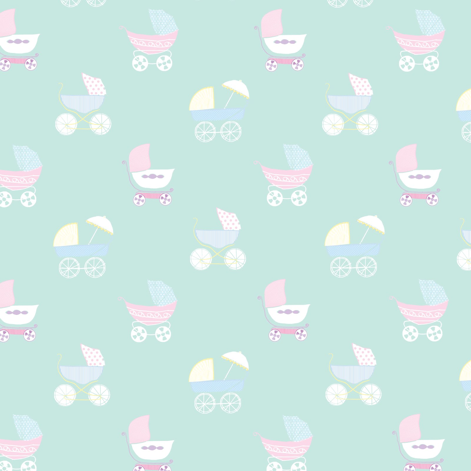 Kate Webster Illustration: Wrapping paper