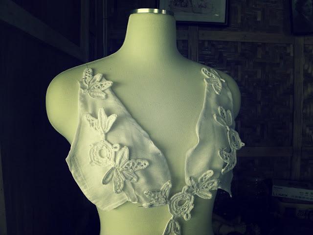 White irish lace motifs you can make