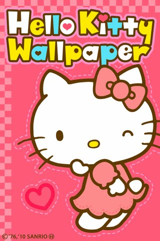 App full of Hello Kitty's lovely wallpapers!