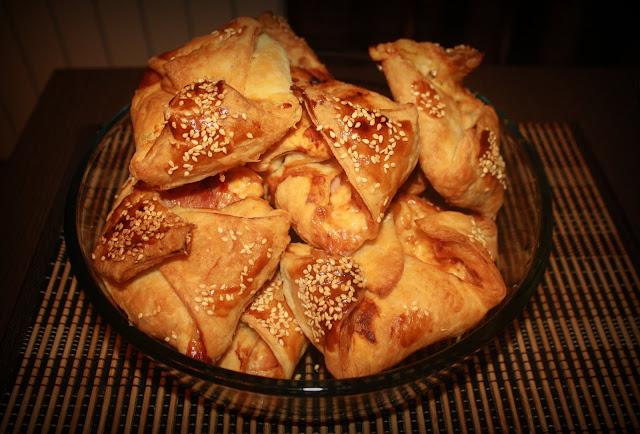Пирожки-треугольники с мясом - пошаговый рецепт с фото на Повар. ру