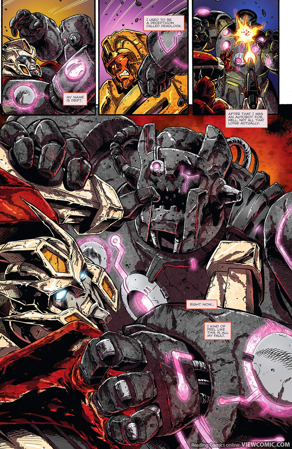 the transformers drift empire of stone 03 2014 viewcomic