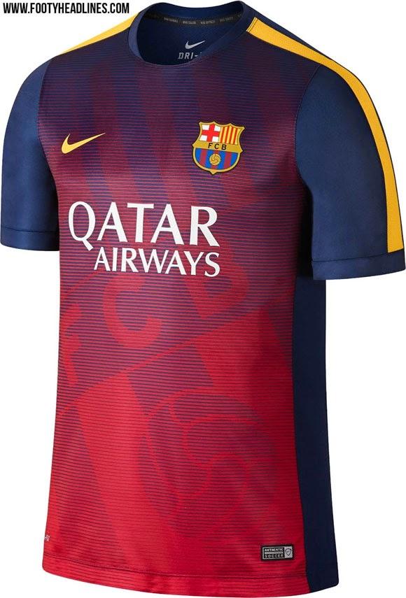 berita dan bocoran  Jersey Premtach Barcelona terbaru musim depan 2015/2016