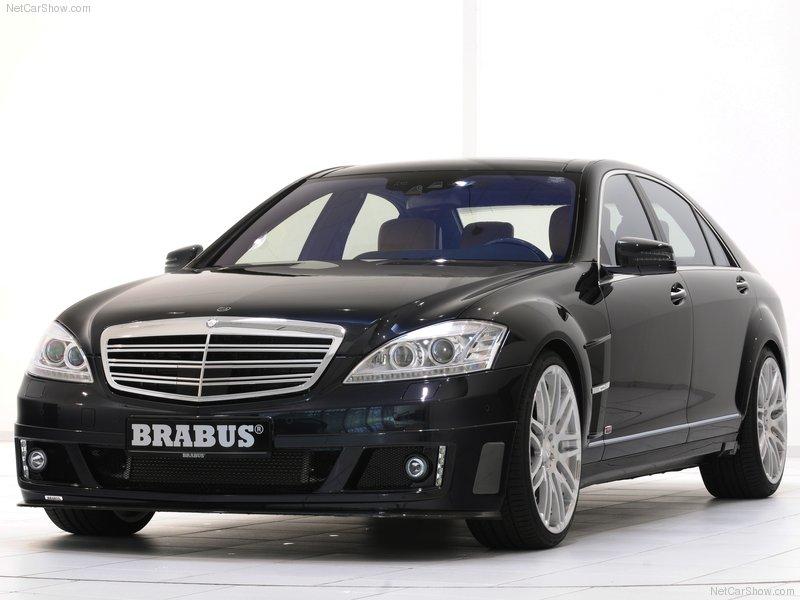Barbus Mercedes-Benz S-Class SV12 R Biturbo 800