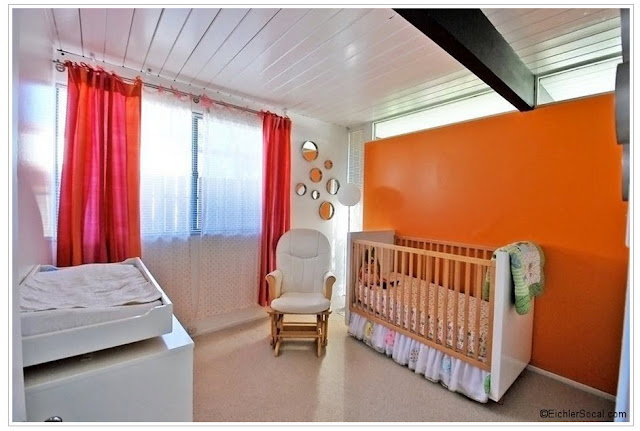 cute Eichler baby's room