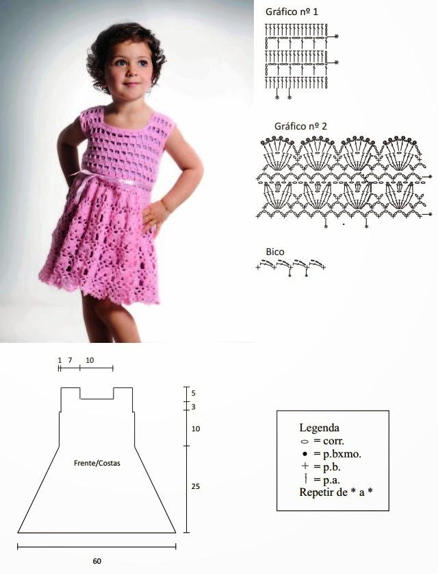 Модели Вязанного Платья Для Девочки