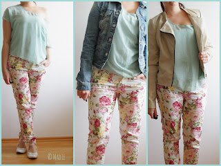 Outfit floral pants