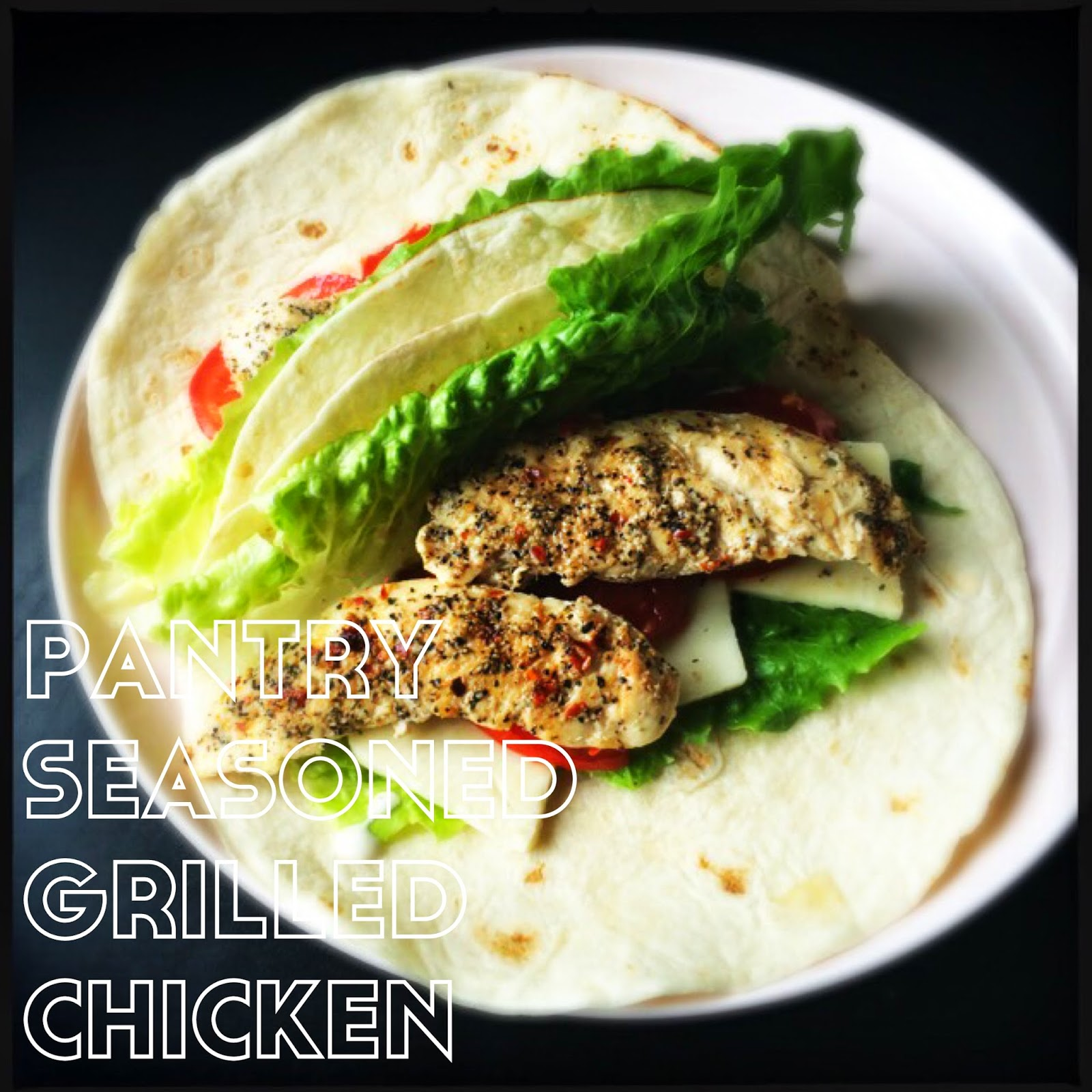 Pantry Seasoned Grilled Chicken {indoor}. The Graffitied Gardenia