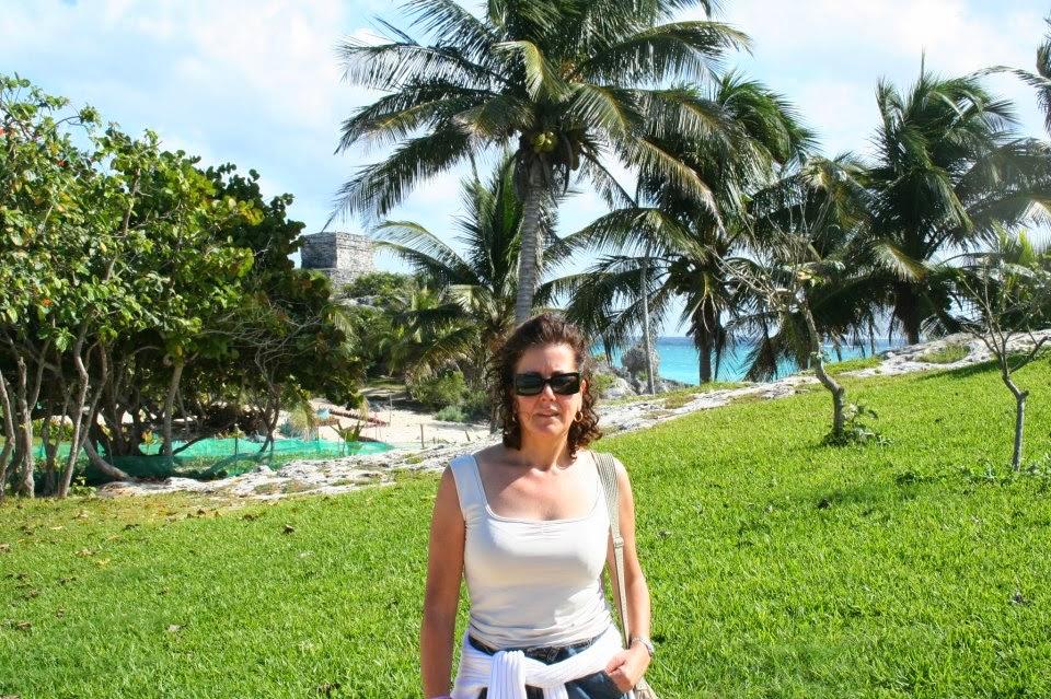 Rosama en el Caribe Mexicano.