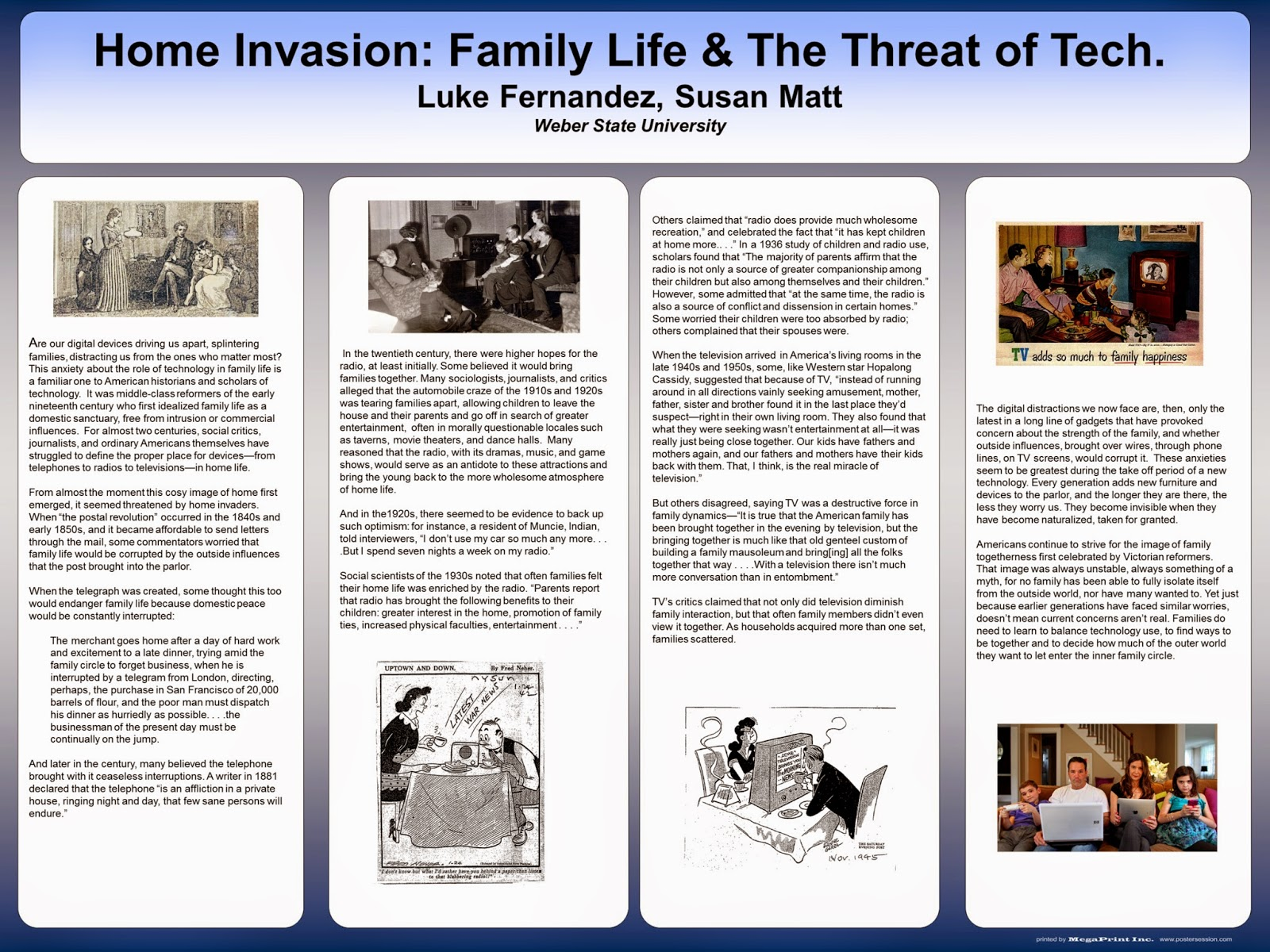 It in the university home invasion family life and the threat of this is the poster that we displayed at the council on contemporary families 17th annual conference in miami freerunsca Images