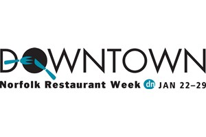 Downtown Norfolk Restaurant Week Logo