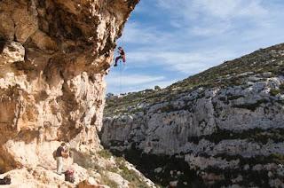 escalada en malta. Escalada deportiva en Malta.