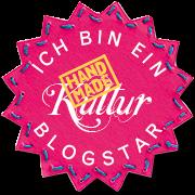 Ich bin ein Blogstar Handmade Kultur Banner
