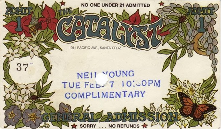 "Ticket ""Crazy Horse"" at ""The Catalyst"""
