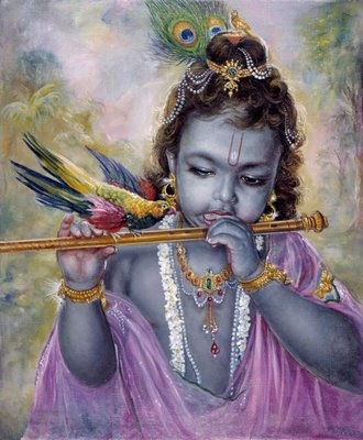 My Dreams...: Lord Krishna's Paintings...