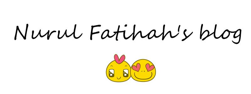 <center>Nurul Fatihah</center>