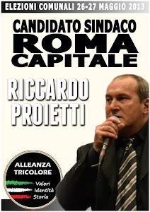 Riccardo Proietti Candidato a Sindaco di Roma