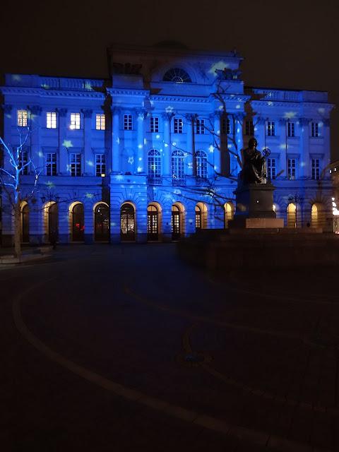 Magia świątecznych świateł Pałac Staszica 2012