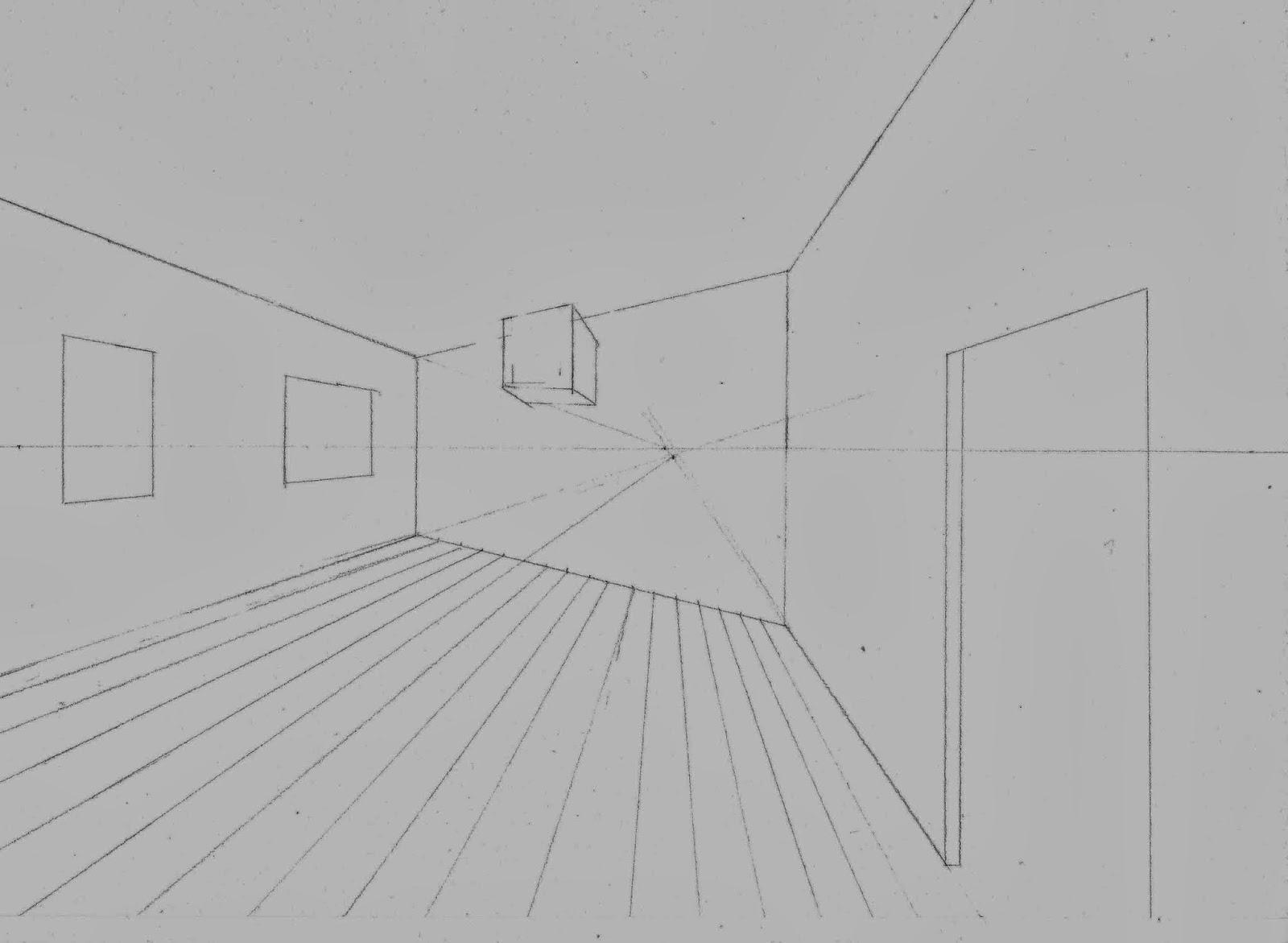 Desin D Interieur En Perspective Avec 1 Point De Fuite : Chez vapi dessins et illustrations initiation au dessin