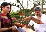 Ajith's Stunt Shot Without Dupe in Veeram Shooting