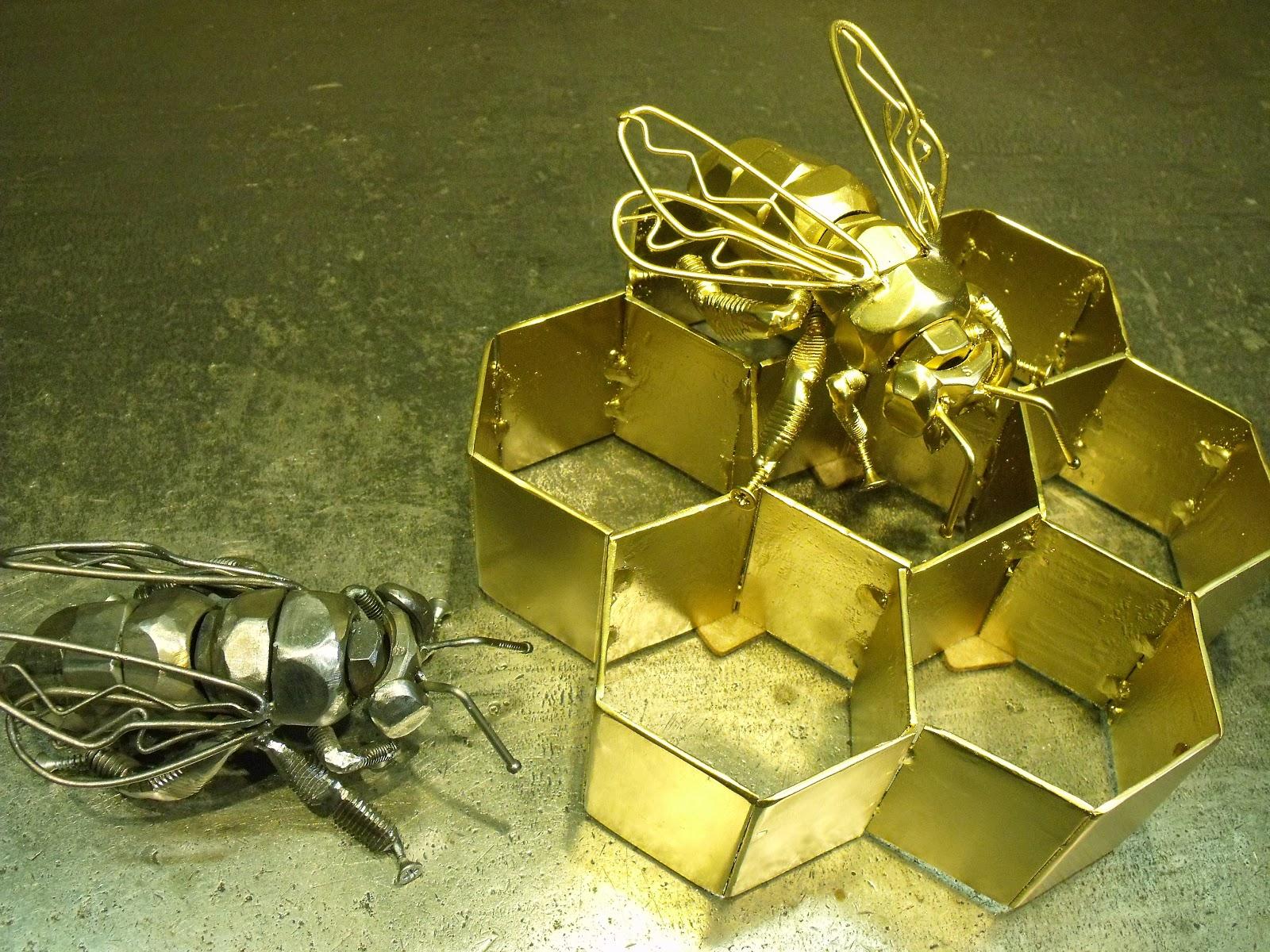 Как сделать поделку из метала