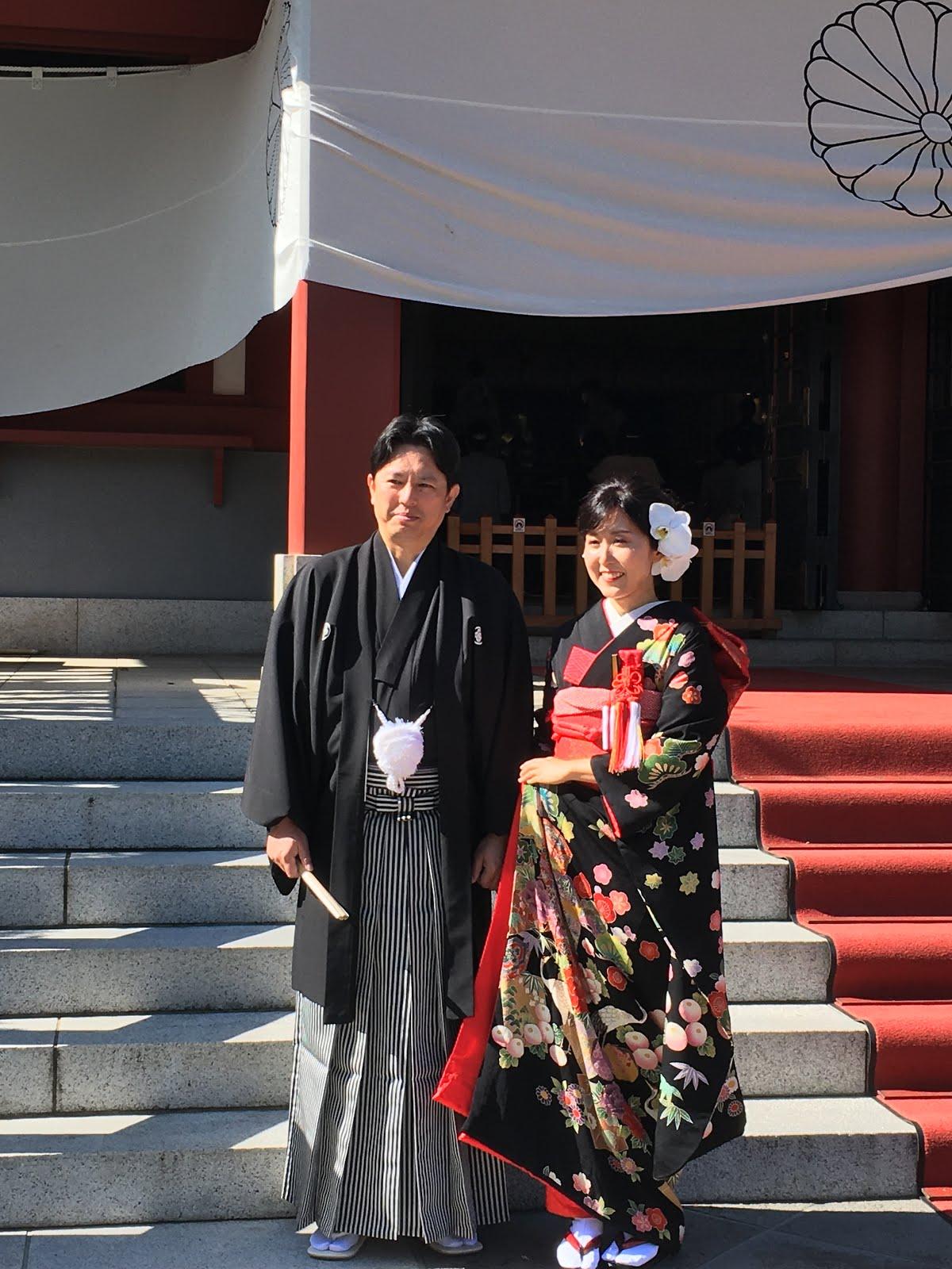 赤坂山王さん日枝神社で娘の挙式