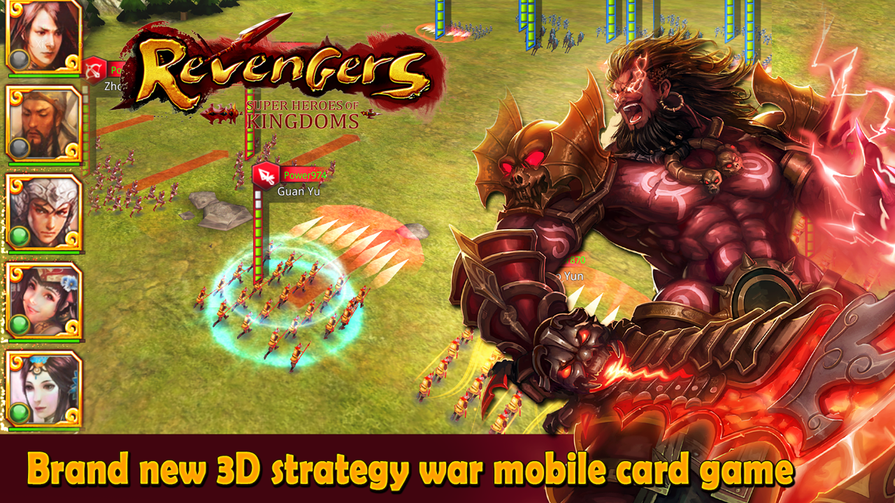 Revengers-Heroes of SanGuo Gameplay Android