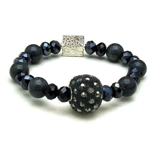 Glam Beaded Bracelet