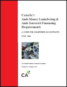 Canada - Anti-Money Laundering and Anti-Terrorist Financing Requirements