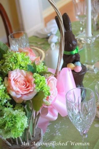 Formal Easter Tablescape