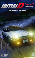 Initial D Legend 1 Awakening 2014 new movie poster gsc malaysia