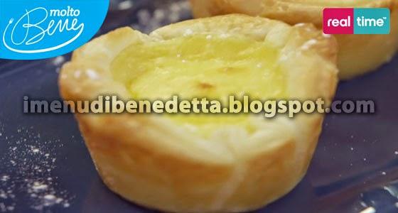 Pasteis de Nata di Benedetta Parodi