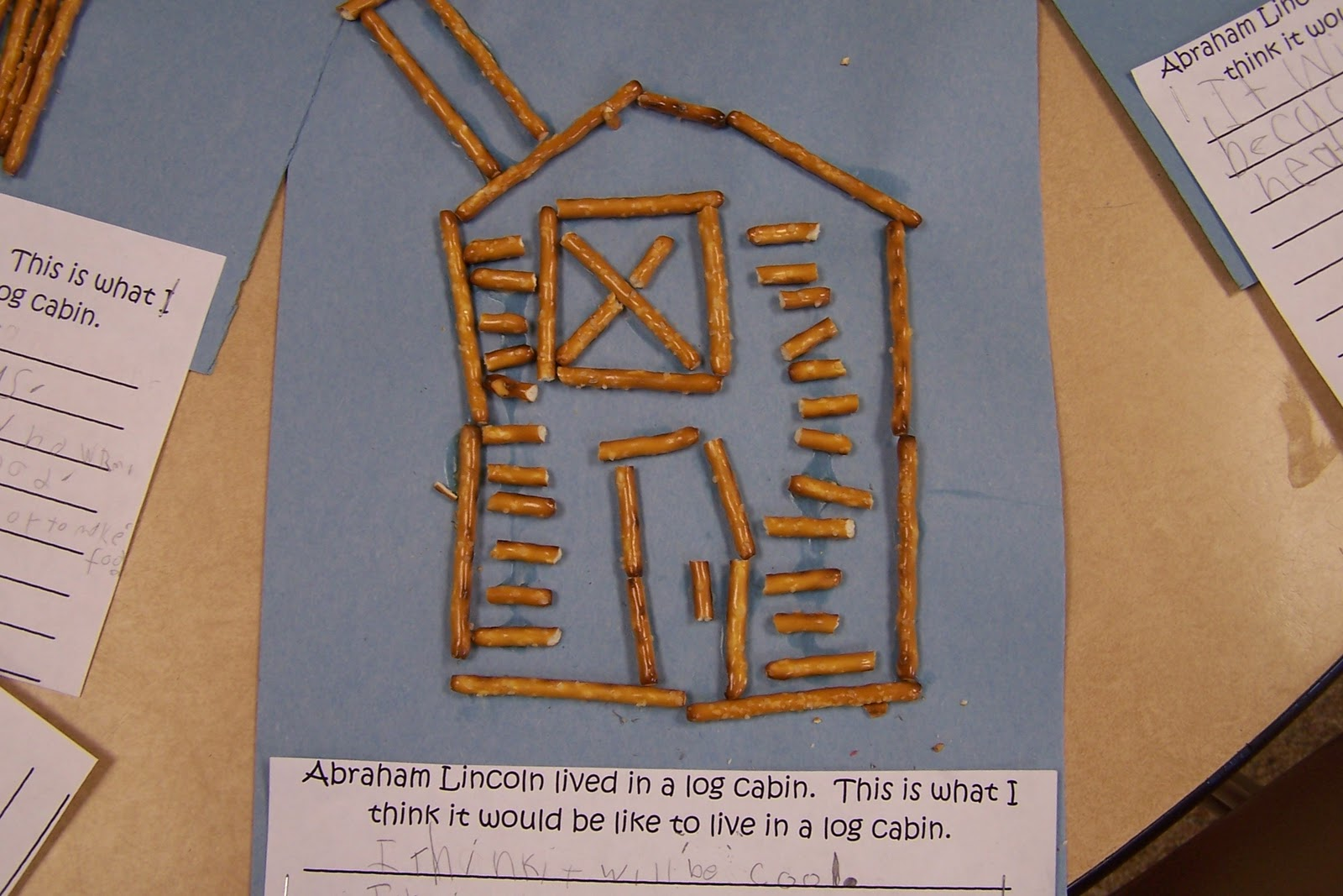 Superb img of We will also be making log cabins out of pretzel sticks. I will post  with #774620 color and 1600x1067 pixels