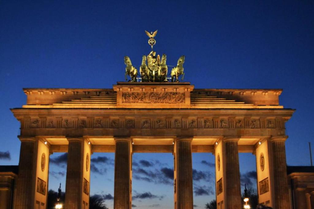 berlin deutschland brandenburger tor