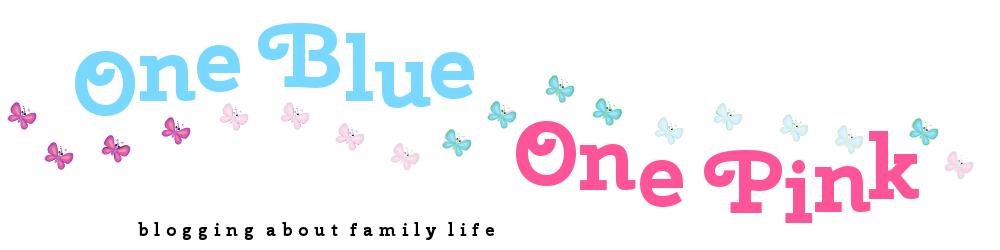 OneBlueOnePink