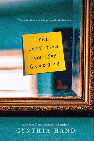 The Last Time We Say Goodbye book cover