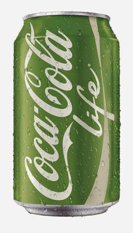 Nouveau Coca-Cola : le Coca-Cola Life vert