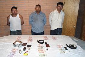 Capturan a presuntos falsificadores