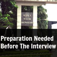 Preparation Needed Before The Interview