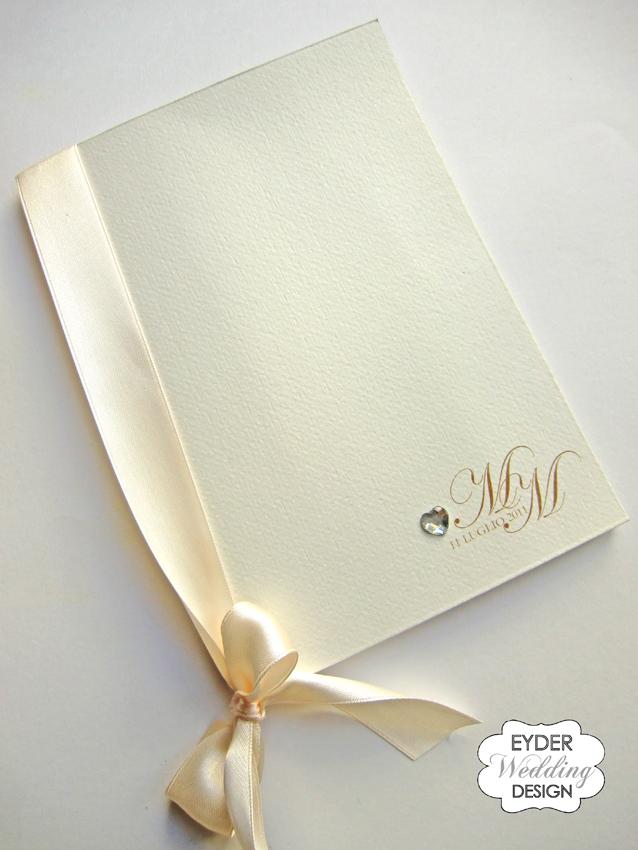 abbastanza EYDER Wedding DESIGN: Libretti messa, messali e ventagli  KE16