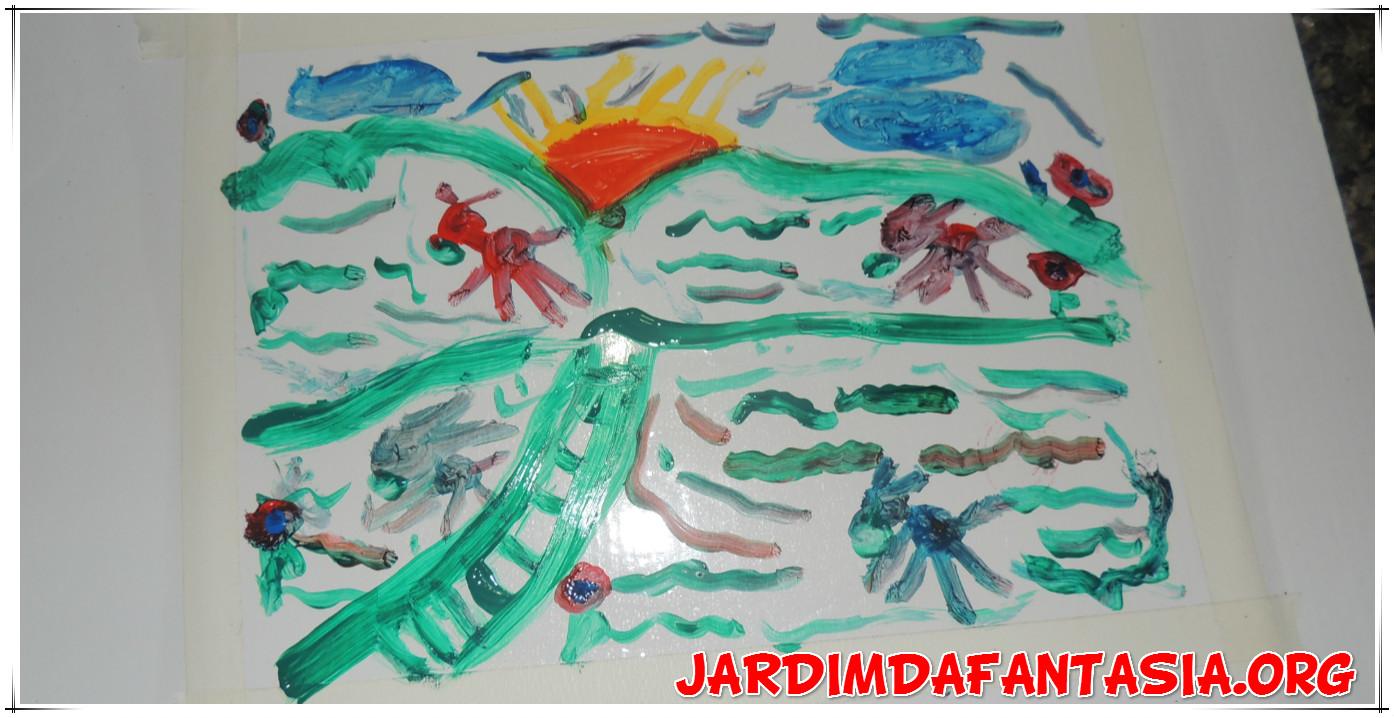 Well-known Atividades Jardim da Fantasia: Artes Visuais Proposta de Atividade  DC87