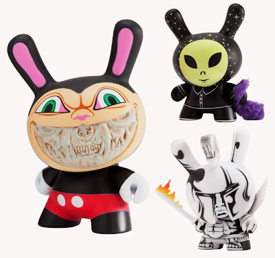 Kidrobot Apocalypse Dunny Series - Ron English, Mishka & Jon Paul Kaiser