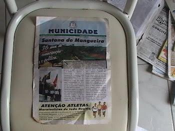´JORNAL TABLOIDE MUNICIDADE EIDÇÃO DE SANTANA DE MANGUEIRA PB