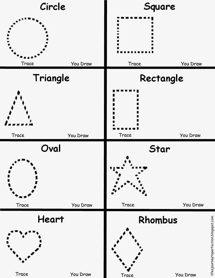 Worksheet Preschool Shape Worksheets lifes journey to perfection preschool shapes worksheet worksheet