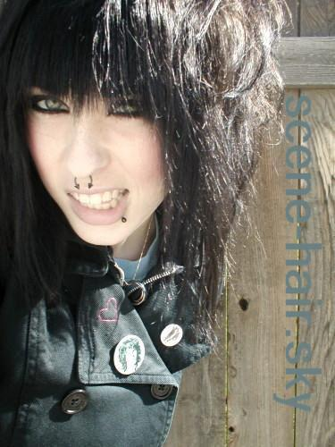 short punk girl hairstyles. punk rock girl hairstyles.